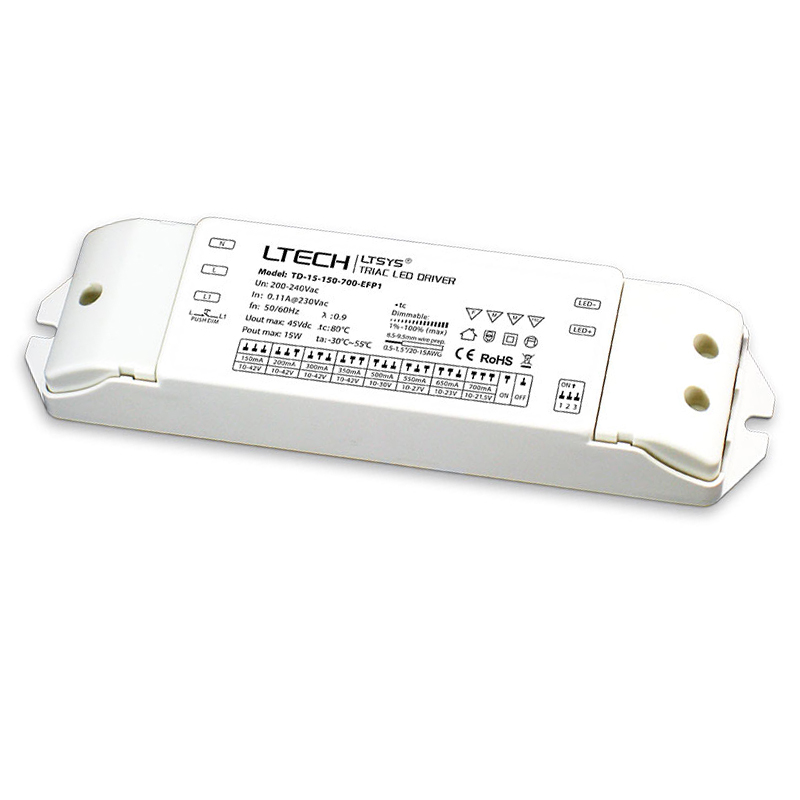 New CC Constant Current Led Triac Dimming Driver;AC200-240V Input;15W 20W 25W 30W 150mA-700mA 200mA-700mA 300mA-900mA Push DIM