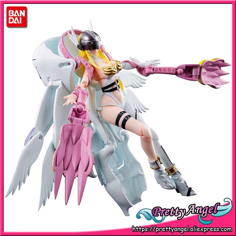 PrettyAngel - Genuine Bandai Tamashii Nations Digivolving Spirits 04 Digimon Adventure Angewomon Action Figure цена и фото