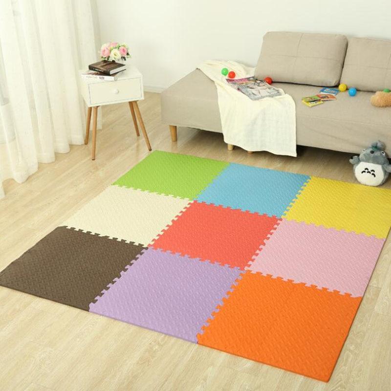 30x30x1cm Colorful Puzzle Mat Eva Foam Baby Mat Play Mat