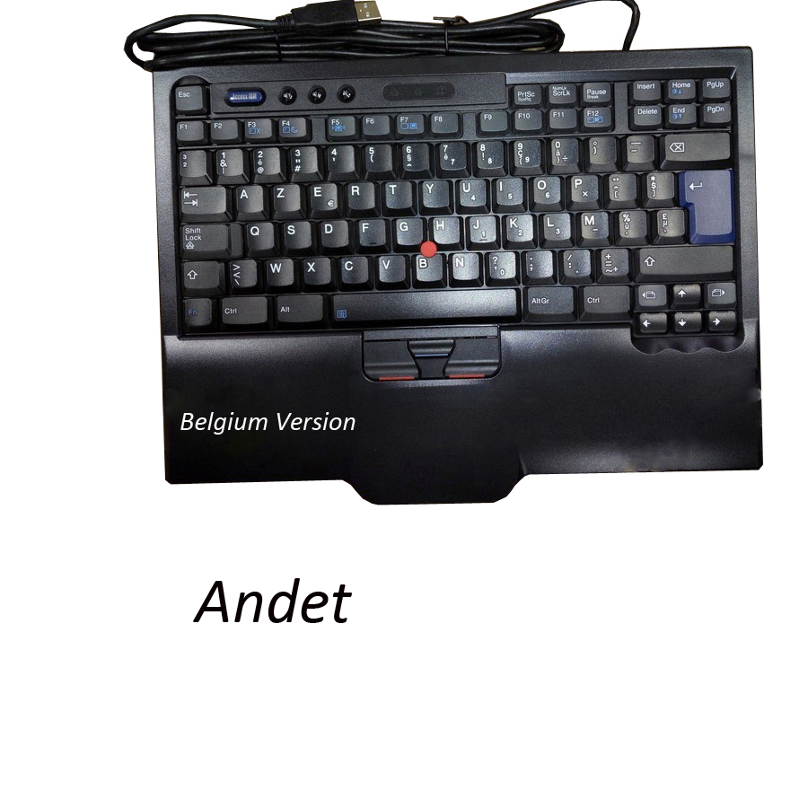 New Original for Lenovo ThinkPad SK-8845 8845CR SK-8845CR UltraNav USB Keyboard Trackpoint Belgium Belgian Version Big Enter free shipping brand new us version for lenovo thinkpad x60 x60s x61 x61s laptop keyboard keypad