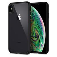 Spigen Ultra Hybrid Clear Back Panel + Soft Bumper Hybrid Cases for iPhone XS Max / iPhone XS