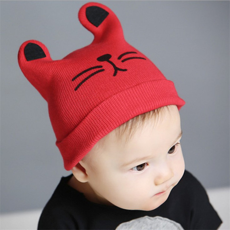 2019 New Arrival Baby Girl Boy Winter Hat Baby Soft Warm Beanie Hat Crochet Elasticity Knit Hats Children Casual Warm Cap(China)