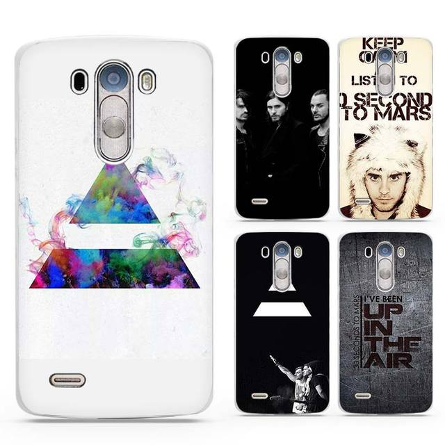 30 Second To Mars 30STM White Case Cover Shell Coque For LG G3 G4 G5 G6