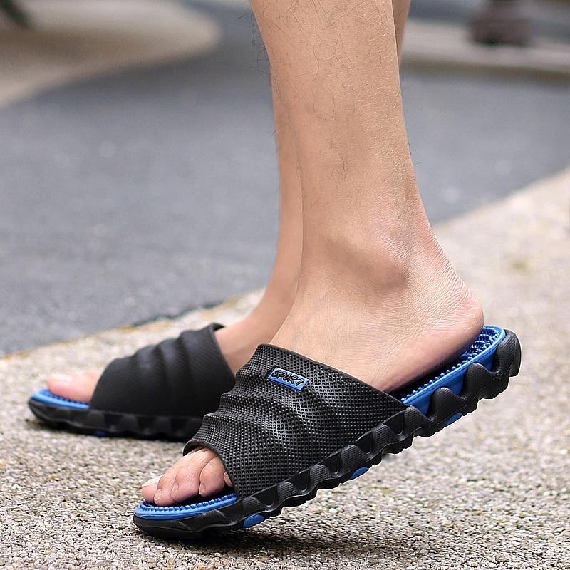 gris Doux Pantoufles Eva Été Loisirs rouge Chaussons Casual vert Massage Plage 2018 Sandales Flops Diapositives Chaussures Flip Bleu Eau Hommes FTqA0
