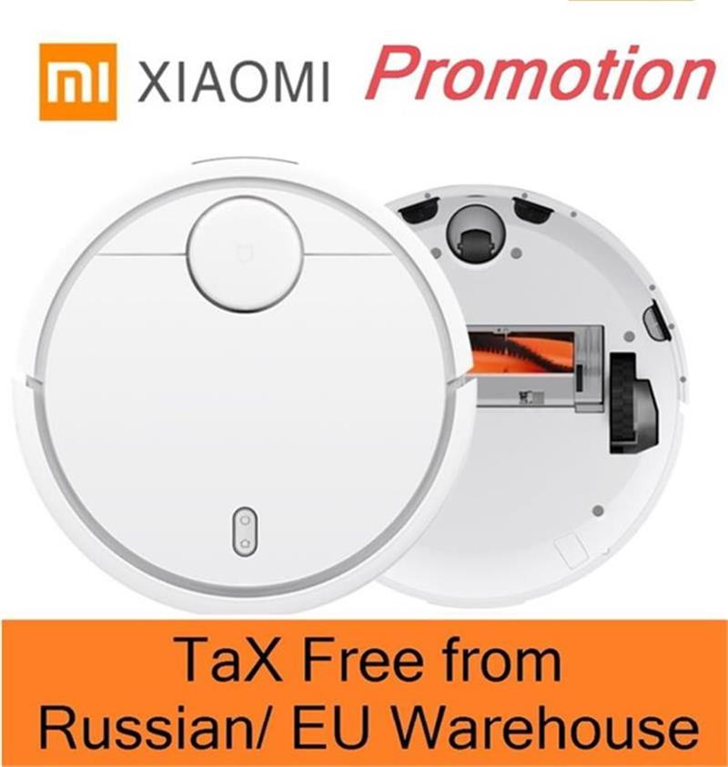 XIAOMI Robotic Vacuum Cleaner MI Robot Smart Planned Type ASPIRADOR WIFI App Control Auto Charge LDS Scan Mapping jisiwei 2017 s smart robotic vacuum cleaner for home mobile app remote control tpu avoidance sensor hd camera robot mopping tool