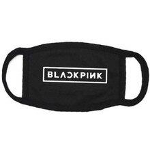 ALLKPOPER KPOP черная розовая маска для рта квадратная маска унисекс новая респиратор против пыли для лица
