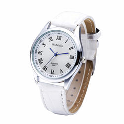 Лидирующий бренд для женщин мода повседневные часы дамы повседневное белые кожаные часы римские цифры женское платье наручные Relogio Feminino