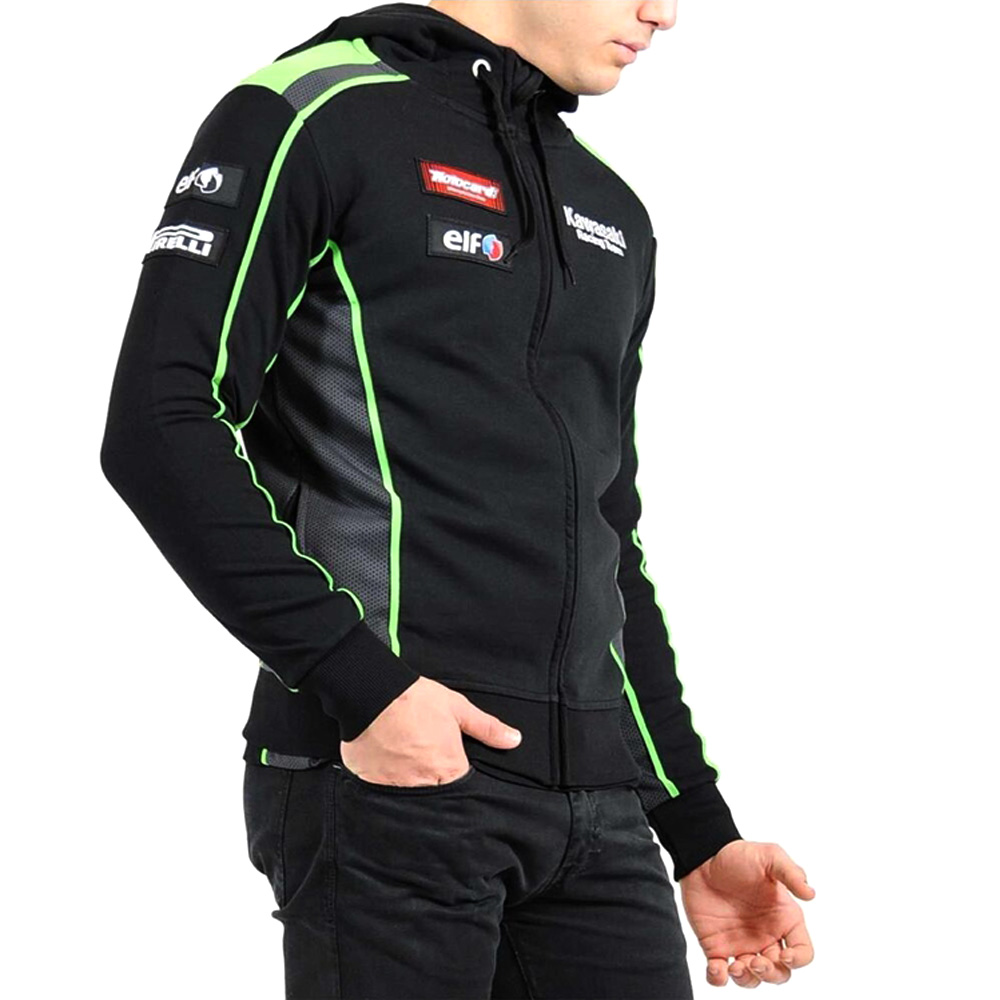 hoodie Racing JACKET Suit 2018 new Motorcycle knight Riding Sweater Coat Cotton Embroidery Recreational valentino rossi