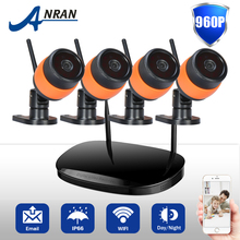 Special Offer ANRAN Wireless Surveillance Kit Outdoor Night Vision Security Camera System WIFI 960P HD CCTV 1TB HDD Included