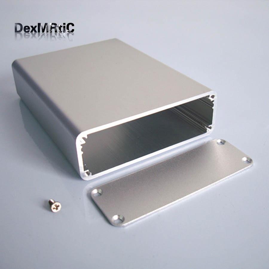 Instrument shell industrial aluminium box electrical Project enclosure DIY 84*28*110mm NEW  2015 ip66 electrical aluminium enclosure waterproof box 300 210 130 with 4 screws