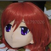 Ручной работы Латекс Полный начальник KIGER маска для Фетиш женские Косплэй Kigurumi маска Трансвестит кукла для взрослых