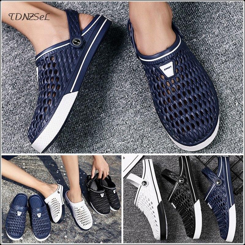 2020 New Men Sandals Hole Shoes Male Crocse Clogs Sandalias Zapatos De Hombre Croc Shoes Sandles Adult Women Slippers Sandalet