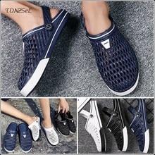 2020 New Men Sandals Hole Shoes Male crocse Clogs Sandalias zapatos de hombre croc