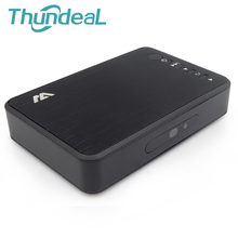 Alliage Full HD 1080 P USB 2.0 Externe HD Media Player HDD Player avec HDMI VGA SD AV Optique Port À Distance Soutien MKV H.264 RMVB