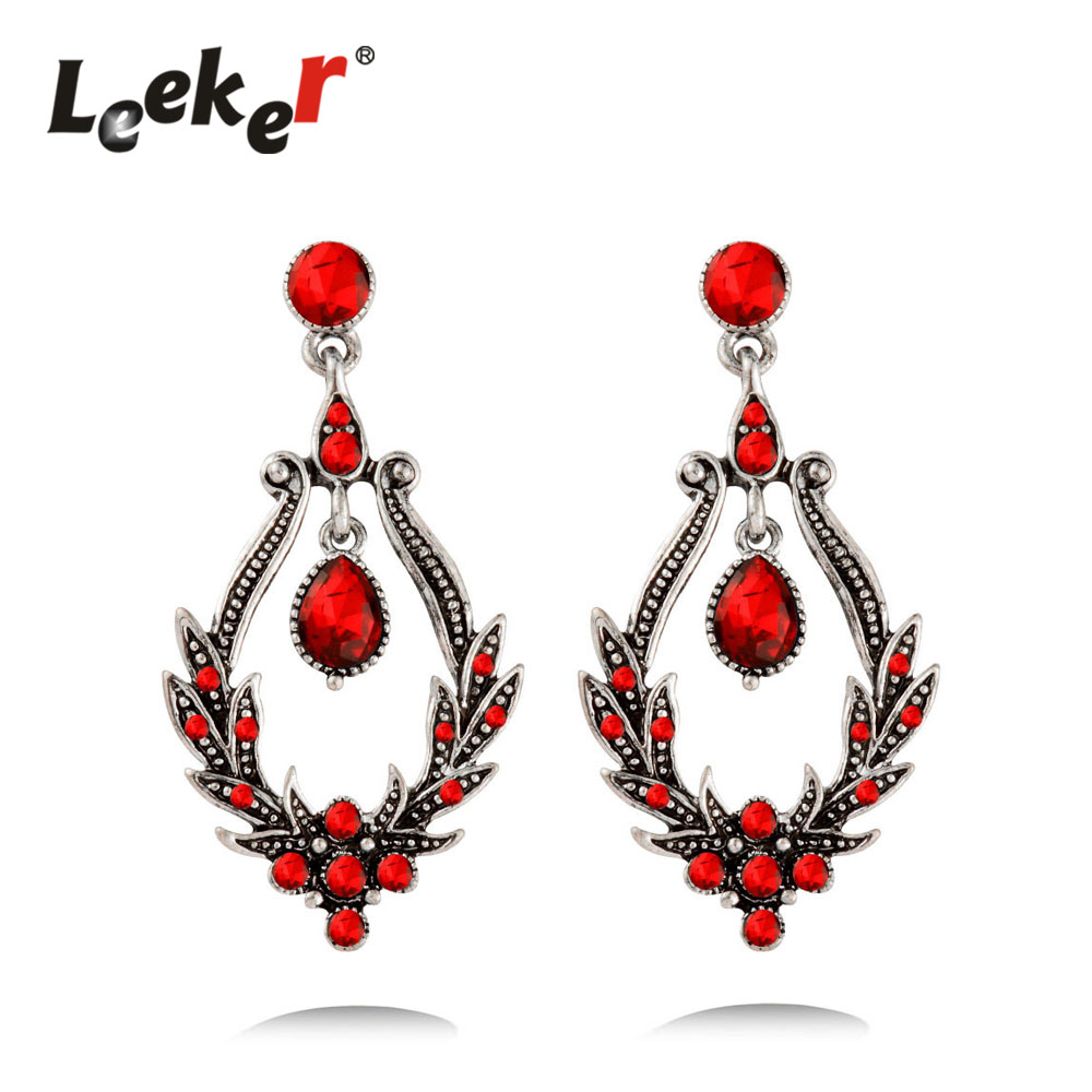 Leeker court style bluered cubic zirconia chandelier earrings leeker court style bluered cubic zirconia chandelier earrings dangle for women vintage antique silver color jewelry 91611 lk5 in drop earrings from jewelry arubaitofo Choice Image