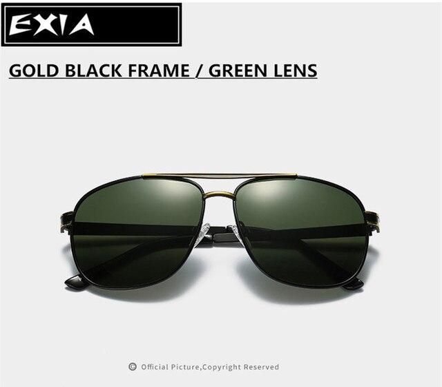 247570c7e98 Green Lenses Ophthalmic AR Coatings Men Sunglasses Brand EXIA OPTICAL KD-0838  Series
