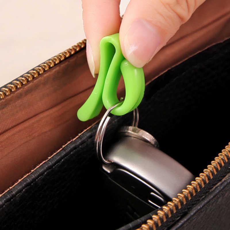2 sztuk moda akcesoria podróżne przenośny klucz bezpieczeństwa części walizka dekoracja z wisiorków organizator wielofunkcyjny Unisex bezpieczeństwa