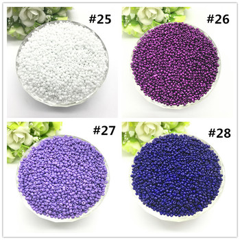 1000pcs 2mm Charm Czech Glass Seed Beads DIY Bracelet Necklace For Jewelry Making Accessories 2