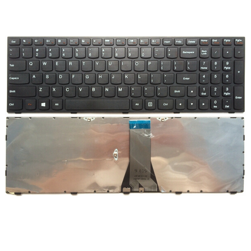 US Black New English Laptop keyboard For Lenovo G50-70 G50-45 B50 G50 G50-70AT G50-30 Z50 Z501 G50 Z50 B50 G50-70 Z501 B50-70 jack for lenovo ideapad g50 g50 70 g50 30 g50 40 g50 45 g40 70 g50 80 dc31100ld00 lg00 laptop dc power socket connector cable