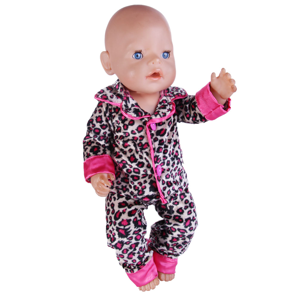 2017 Doll Baby Born Clothes Wear fit 43cm Zapf doll Children best Birthday Gift n571 zebra pattern doll clothes wear fit 43cm baby born zapf doll children best birthday gift