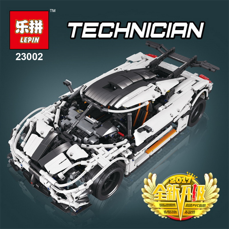lepin 23002 Technic Series Race Car children bricks 42056 model building kits blocks toys for boys Christmas birthday gifts doinbby store 21004 1158pcs with original box technic series f40 sports car model building blocks bricks 10248 children toys