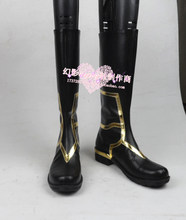 FGO Fate Grand Order Caster Merlin Ambrosius Cosplay Shoes Boots Custom Made 5766(China)