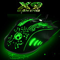 2016 New IMICE-ESTONE X9 5000DPI Colorful Gaming Mouse 6 Buttons LOL Optical  USB Wired Computer &Professional Game Mice