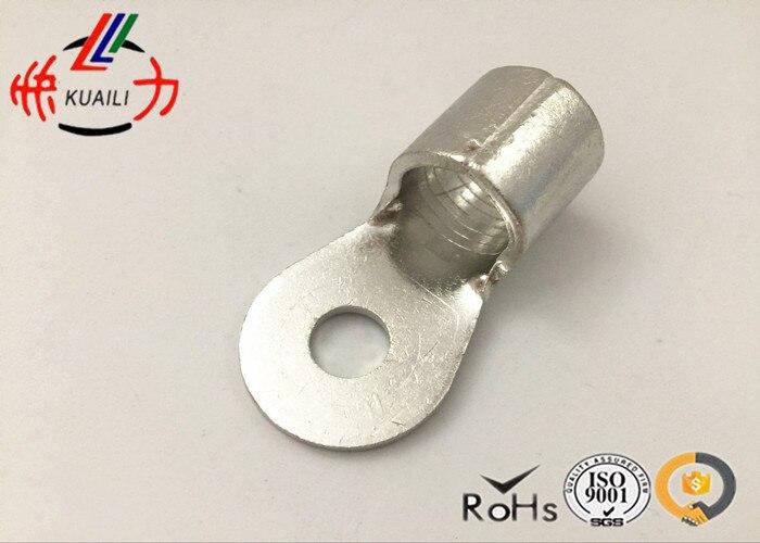 100PCS NON-INSULATED RING TERMINALS RNB 60-6 1000pcs non insulated ring terminals rnbl 1 25 4