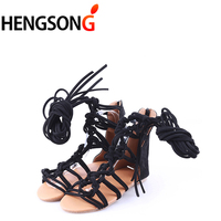 68d7a48eb Fashion Knee Length Sexy Cross Tie Sandal Women Gladiator Sandals Women  Cross Strap Tall Sandals Women