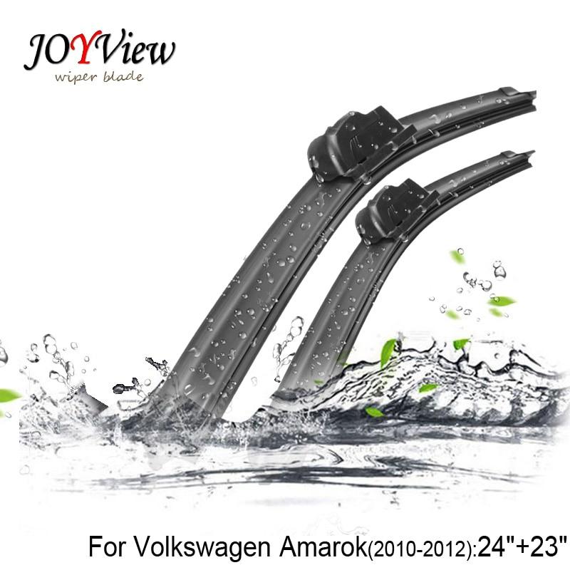 U hook Size:24+23 Fit For (VW) Volkswagen Amarok Years 2010-2012&T5 Transport 03-13 High Quality Windscreen Wipers