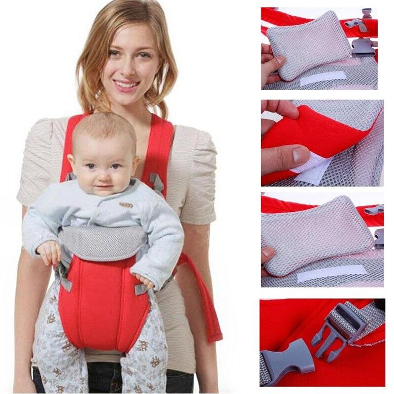 Vente chaude confort porte-bébé infantile sling Bon Bébé Enfant En Bas Âge Nouveau-Né cradle poche ring sling transporteur enroulement tronçon 2017