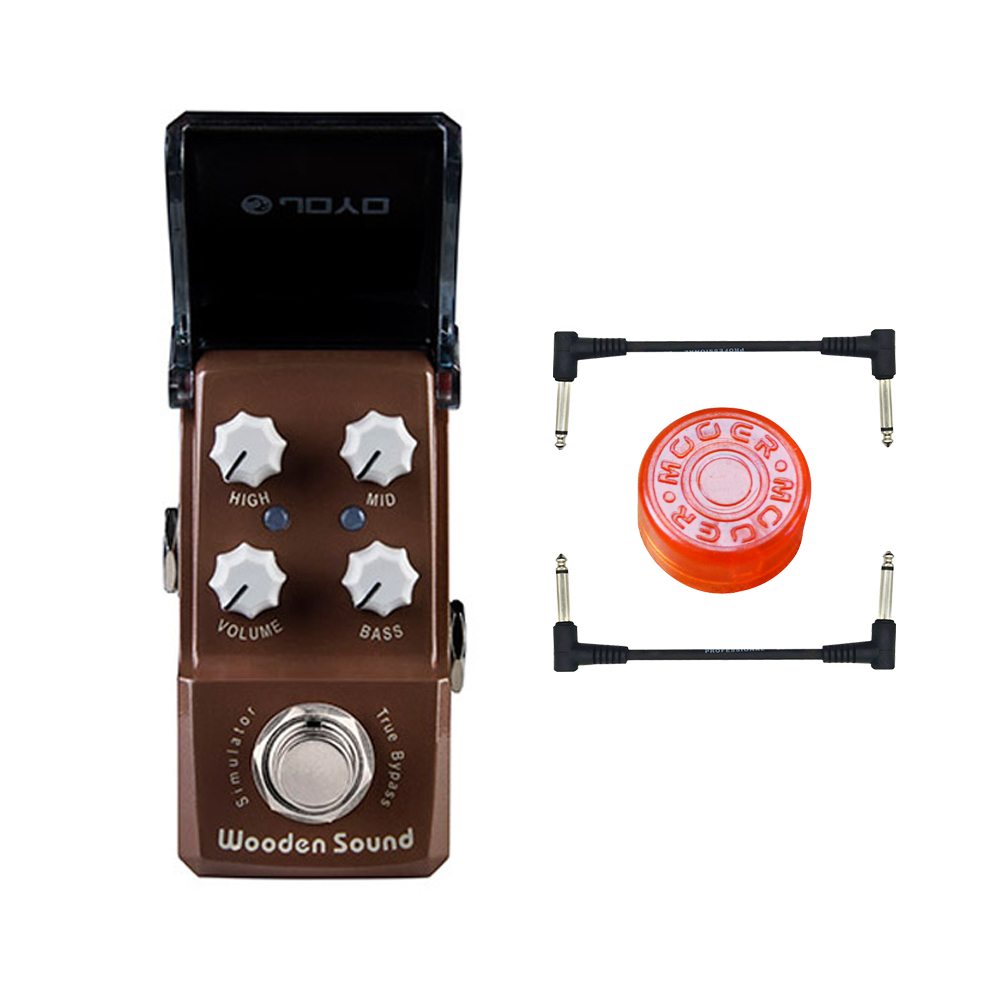 JOYO JF-323 NEW IRONMAN Acoustic guitar simulator effect pedal acoustic simulator effect guitar stompbox accompany fingerstyle joyo guitar effect pedal british sound effect pedal marshall amps simulator jf 16