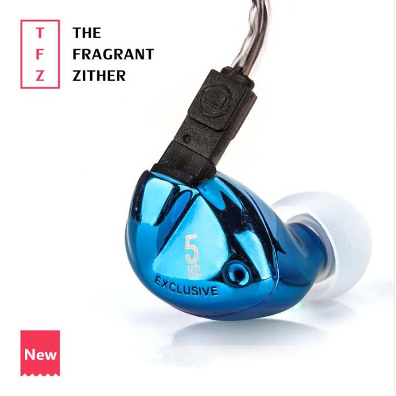 TFZ EXCLUSIVE 5 In Ear Earphone The Fragrant Zither Monitor HiFi Headset Customized 9mm Dynamic DJ Earphones tfz exclusive 3 in ear earphone the