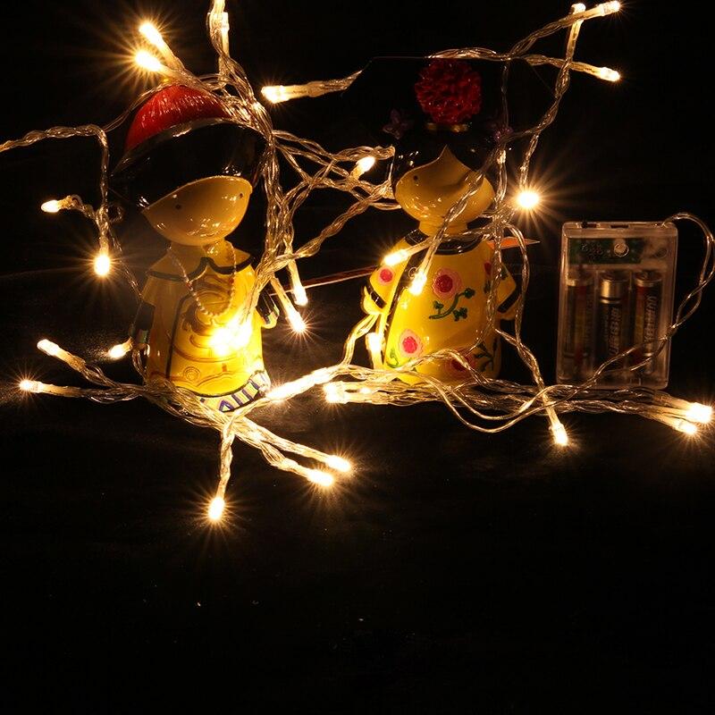 Cordas de Iluminação string luzes a pilhas de Marca : Mholfb