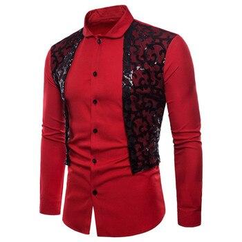 f82291f16 Snowshine YLW hombre manga larga Oxford Casual Formal trajes Slim Fit  vestido camisas blusa Top envío gratis