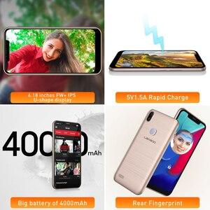 "Image 5 - מקורי LEAGOO M11 4G טביעות אצבע נייד טלפון 6.18 ""SIM הכפול אנדרואיד 8.1 Quad Core 2GB RAM 16GB ROM 4000mAh פנים מזהה Smartphone"