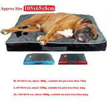 สุนัขเบาะสำหรับสุนัขขนาดใหญ่ผ้า Oxford Puppy Breathable กันน้ำ Dog House สัตว์เลี้ยง Nest โซฟาผ้าห่มสำหรับสัตว์