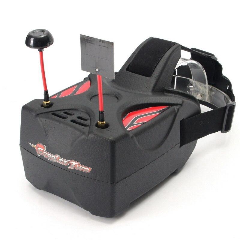 В наличии! новое поступление Нибиру очки два 5 дюйм(ов) 5.8 Г разнообразие 40ch raceband HD 1080 P FPV-системы очки Видео-очки