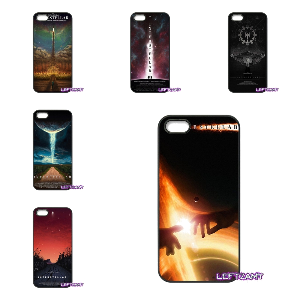 interstellar Space Stars Movie art Hard Phone Case Cover For iPhone 4 4S 5 5C SE 6 6S 7 8 Plus X 4.7 5.5 iPod Touch 4 5 6