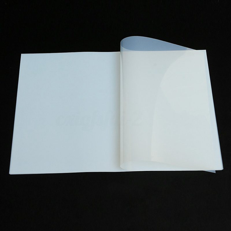 10pcs Sheet A3 Screen Printing Transparency Inkjet Film Paper Exposure Positive