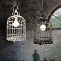 Лампа E27  американская кантри-бар  для ресторана  отеля  птички  подвесная осветительная лампа