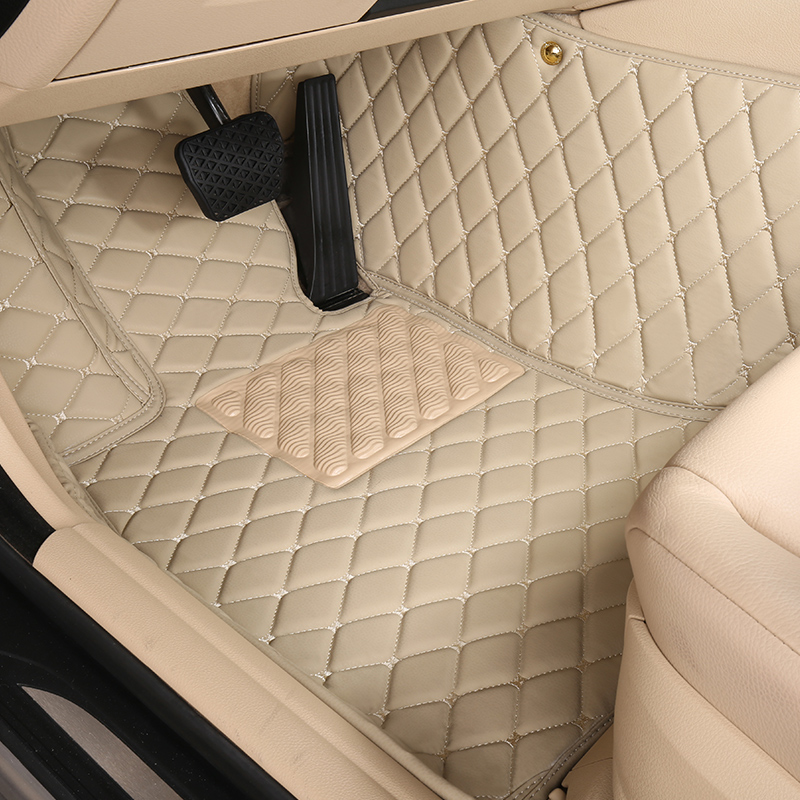 Customized full covered car floor mats for Dorge Journey RAM <font><b>1500</b></font> 5seat waterproof durable carpets image