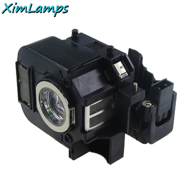 V13h010l50/elplp50 lâmpada do projetor com habitação para epson powerlite 85, 825, 826 W, EB-824, EB-824H, EB-825H, EB-826WH, EB-84H