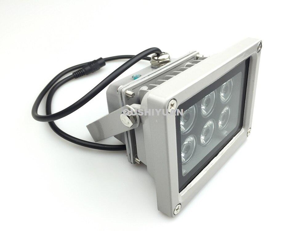 CCTV 4pcs Array LED Illuminator IR Infrared Night Vision Light for CCTV Cameras