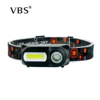 6 Modes COB LED Head Torch light Led Headlamp Flashlight USB Rechargeable 18650 Camping Hiking Night Fishing Outdoor Head Lamp