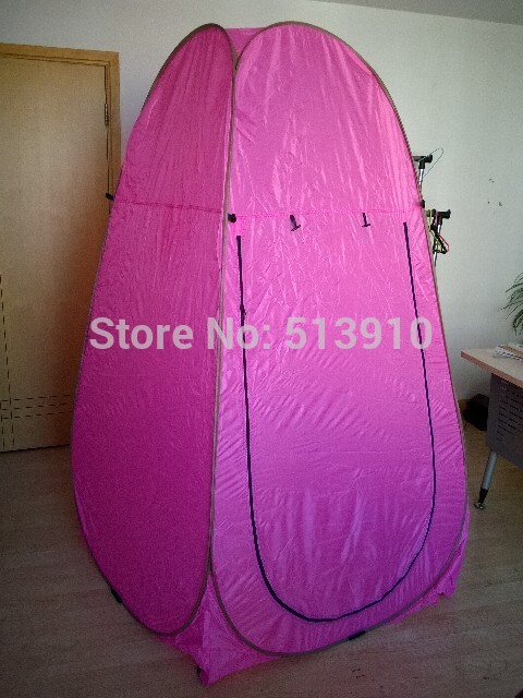 Pink Automatic steel Portable Shower/dreesing/toilet/fishing outdoor pop up tent/quick open changing room for girls-in Tents from Sports u0026 Entertainment on ... & Pink Automatic steel Portable Shower/dreesing/toilet/fishing ...