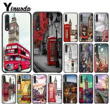 Yinuoda london bus england telephone vintage british Phone Cover for HuaweiP9 P10Plus Mate9 10 Mate10Lite P20 Pro Honor10 View10(China)