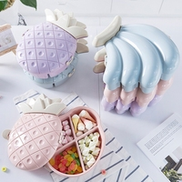 Creative Melon Seeds Nut Bowl Table Candy Snacks Dry Fruit Holder Storage Box Plate Dish Tray
