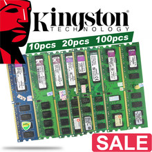 Used Kingston PC Memory RAM Memoria Module Desktop DDR2 DDR3 1GB 2GB 4GB 8GB PC2 PC3 667mhz 800mhz 800 1333 1600 1600mhz 1333mhz(China)