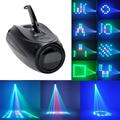 High Quality AC 90V-240V 10W Magic Pattern Change 64 LED RGBW Stage Light Projector EU Plug Disco Clubs KTV Light Lamp